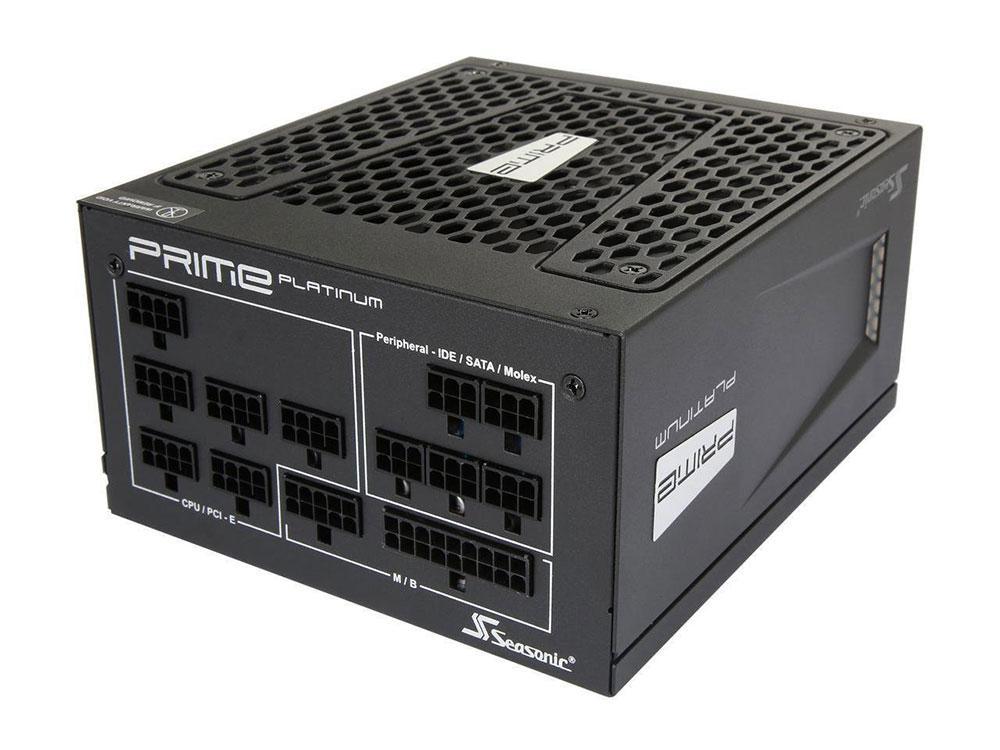 Блок питания ATX 1000 Вт Seasonic PRIME PLATINUM 1000W SSR-1000PD 2pcs 25a ssr input dc 0 10v single phase ssr solid state relay voltage regulator