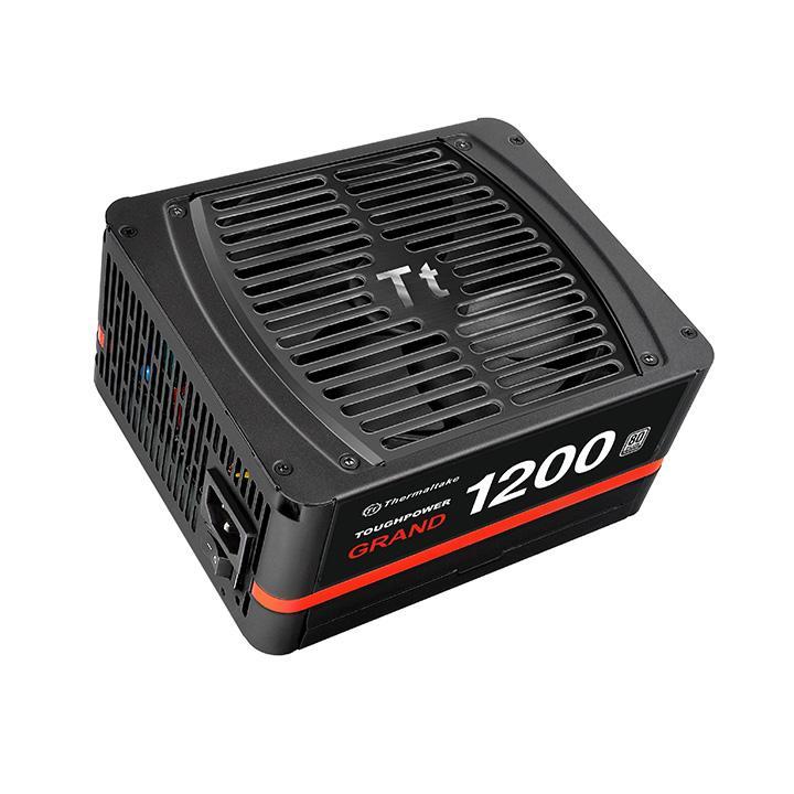 Блок питания Thermaltake ToughpowerGrand 1200W PS-TPG-1200FPCPEU-P/Modular/ATX 2.3 & EPS 2.92/A-PFC/13.5cm/EU/80+ Platinum, RTL {4} цена и фото