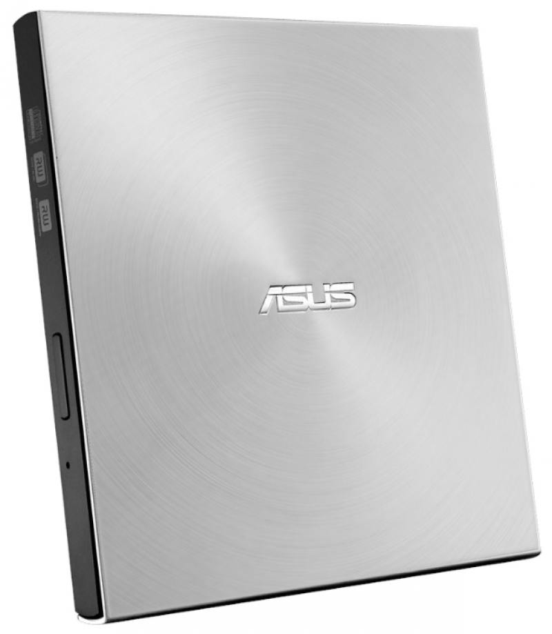Внешний привод DVD±RW ASUS SDRW-08U7M-U/SIL/G/AS USB 2.0 серебристый Retail внешний привод dvd rw asus sdrw 08u5s u dvd±r ±rw usb 2 0 серебристый