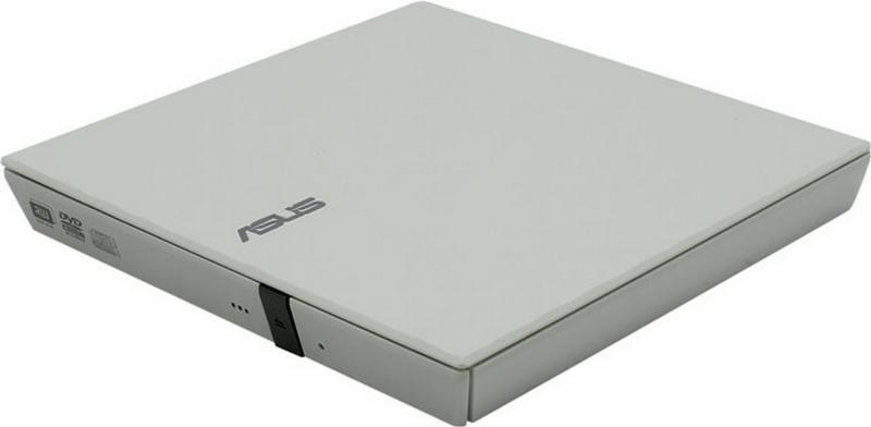 Внешний привод DVD±RW ASUS SDRW-08D2S-U Lite USB 2.0 белый Retail
