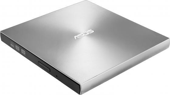 Внешний привод DVD±RW ASUS SDRW-08U9M-U USB 2.0 серебристый Retail внешний привод dvd±rw lg gp70ns50 usb 2 0 серебристый retail