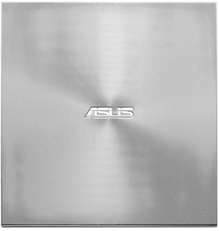 Внешний привод DVD±RW ASUS SDRW-08U9M-U/SIL/G/AS/P2G USB 2.0 серебристый 90DD02A2-M29000 привод dvd rw asus sdrw 08u5s u sil g as