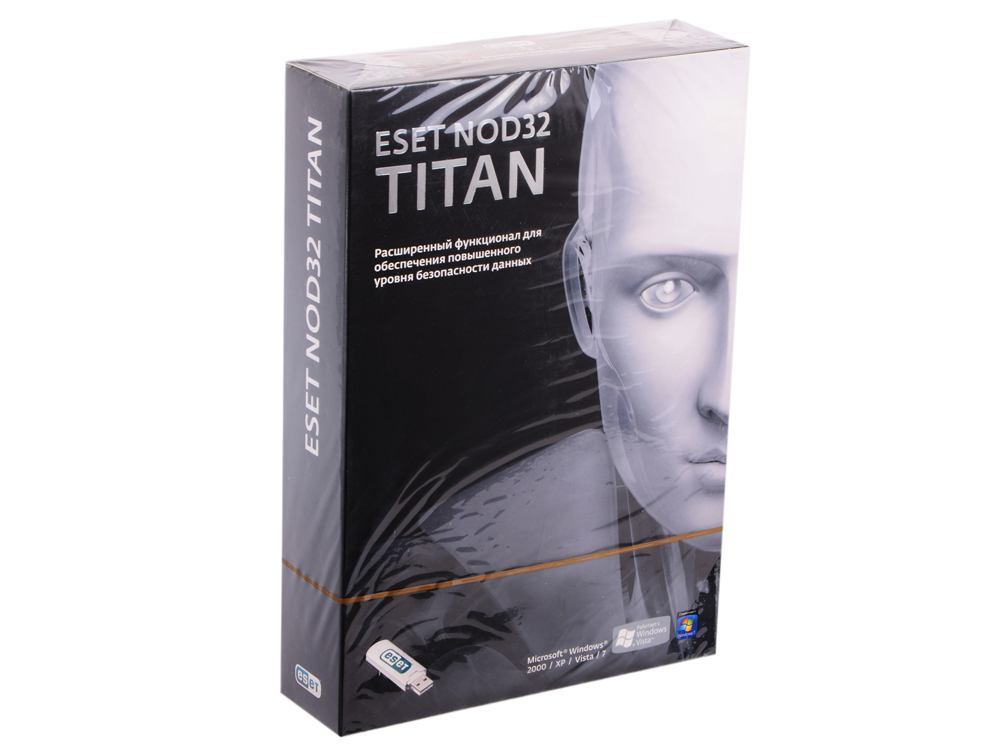 Антивирус ESET NOD32 TITAN Smart Security - лицензия на 1 год на 3ПК  NOD32-EST-NS(BOX)-1-1  (Box2-1-1)