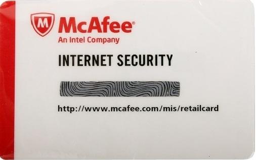Антивирус McAfee Internet Security 2013 (на 1 год, на 3 ПК) антивирус