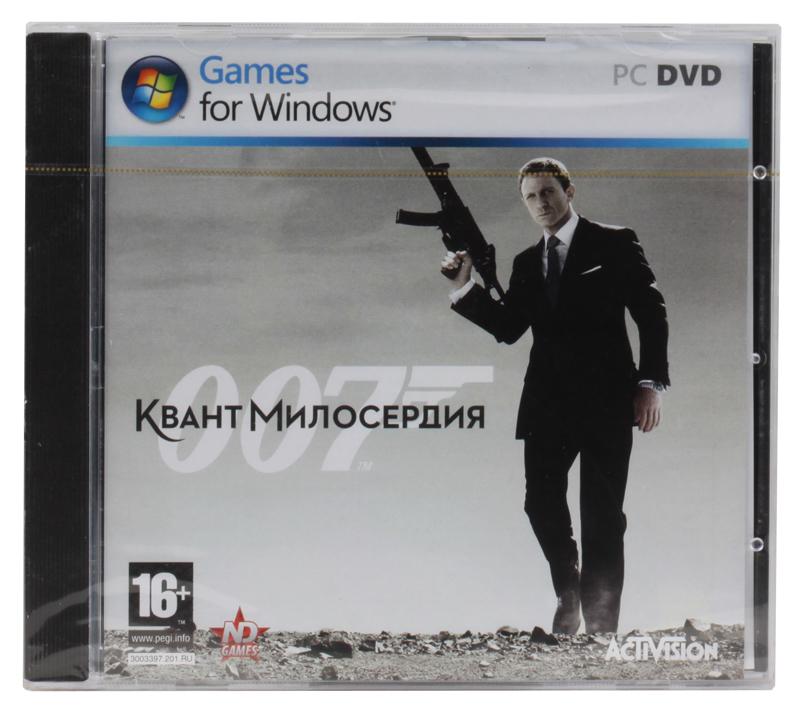 Игра для PC 007: Квант милосердия PC-DVD (Jewel)