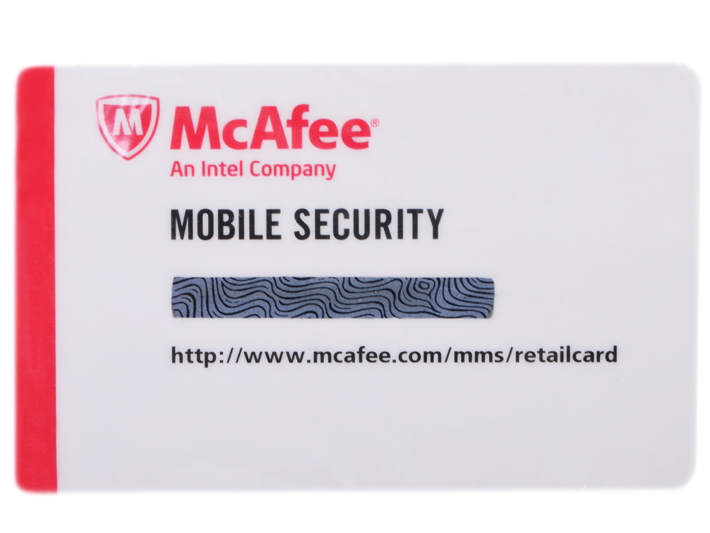 Программное обеспечение McAfee Mobile Security (WSS149EC1RAO) программное обеспечение