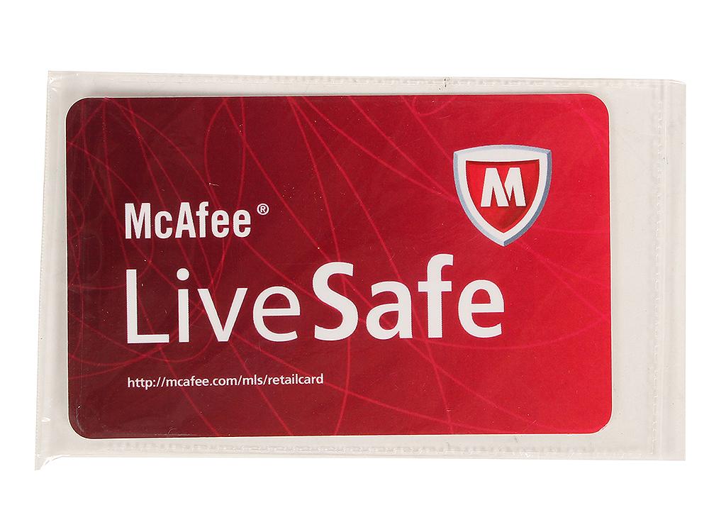 Программное обеспечение McAfee LiveSafe Promo (QFMLS139001RAA)