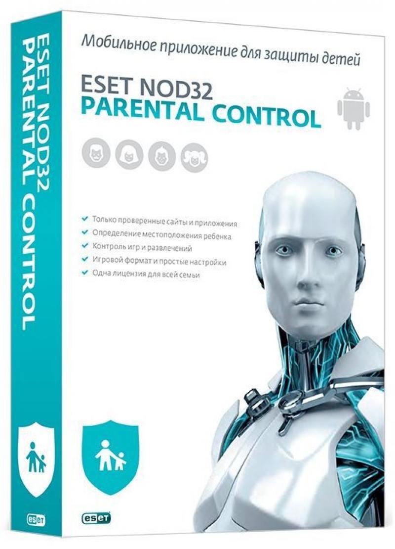 Антивирус ESET NOD32 Parental Control для всей семьи на 12 мес NOD32-EPC-NS(BOX)-1-1