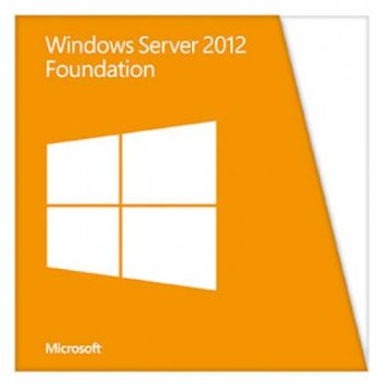 Программное обеспечение HPE Windows Server 2012 R2 Foundation 64-bit, ROK (1CPU, 32GB, Multi, up to 15 users, No VM), Proliant only