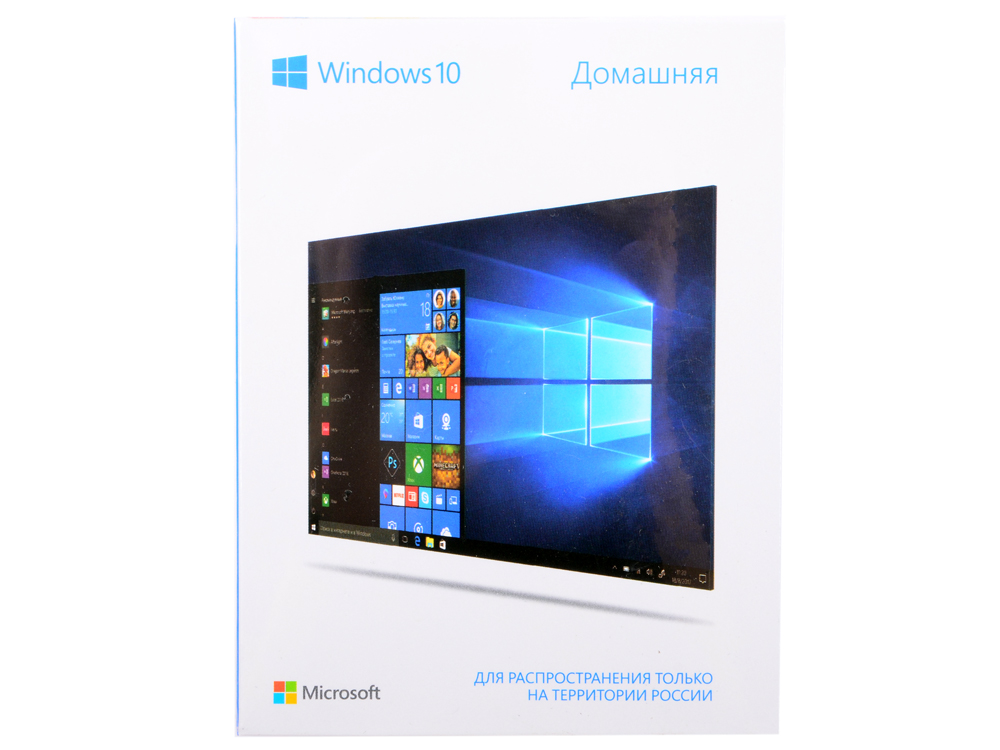 Программное обеспечение Windows 10 Home 32/64 bit Rus Only USB (KW9-00500) цена