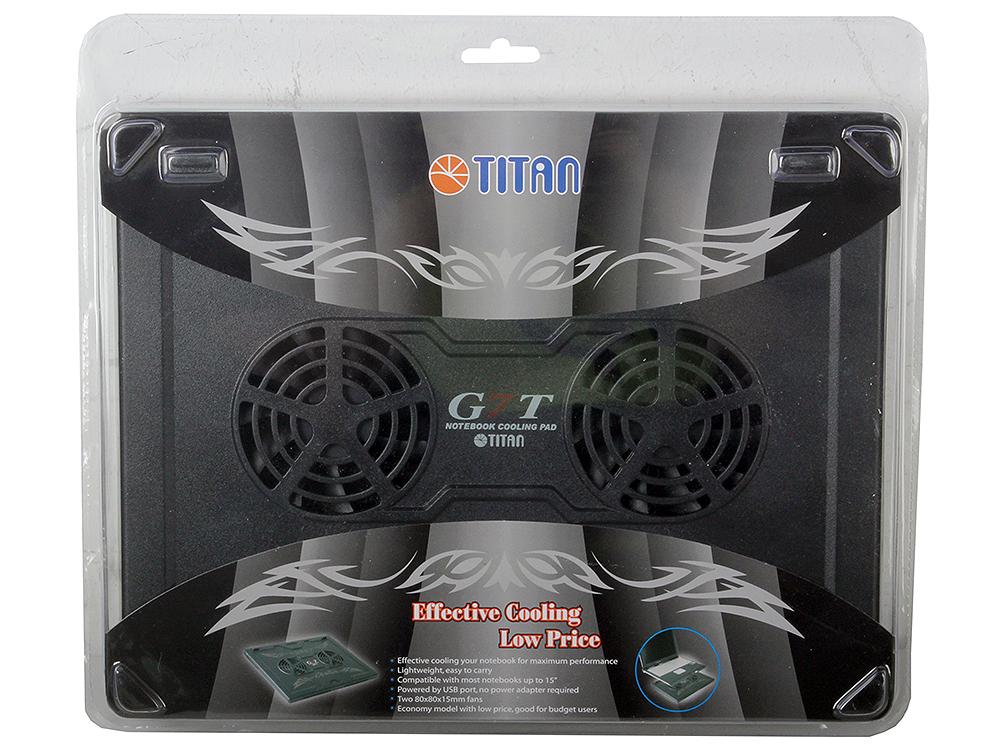 "Теплоотводящая подставка под ноутбук Titan TTC-G7TZ laptop 12-15"""