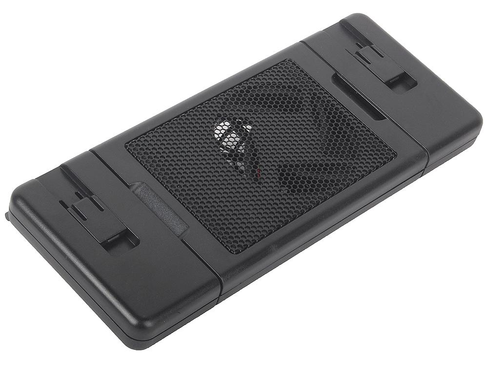 Теплоотводящая подставка-кулер для ноутбука kromax SATELLITE-40, наклон 10°, размер 22-32х9 см, max 5 кг