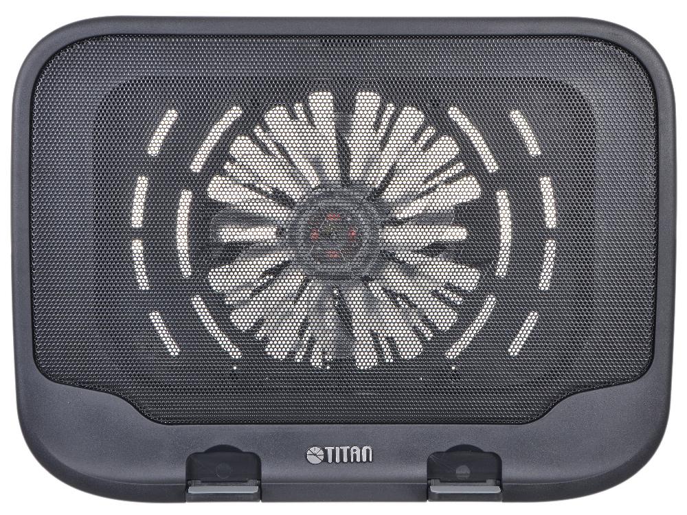 """Теплоотводящая подставка под ноутбук Titan TTC-G21T Для ноутбуков с диагональю 10""""-15"""""""
