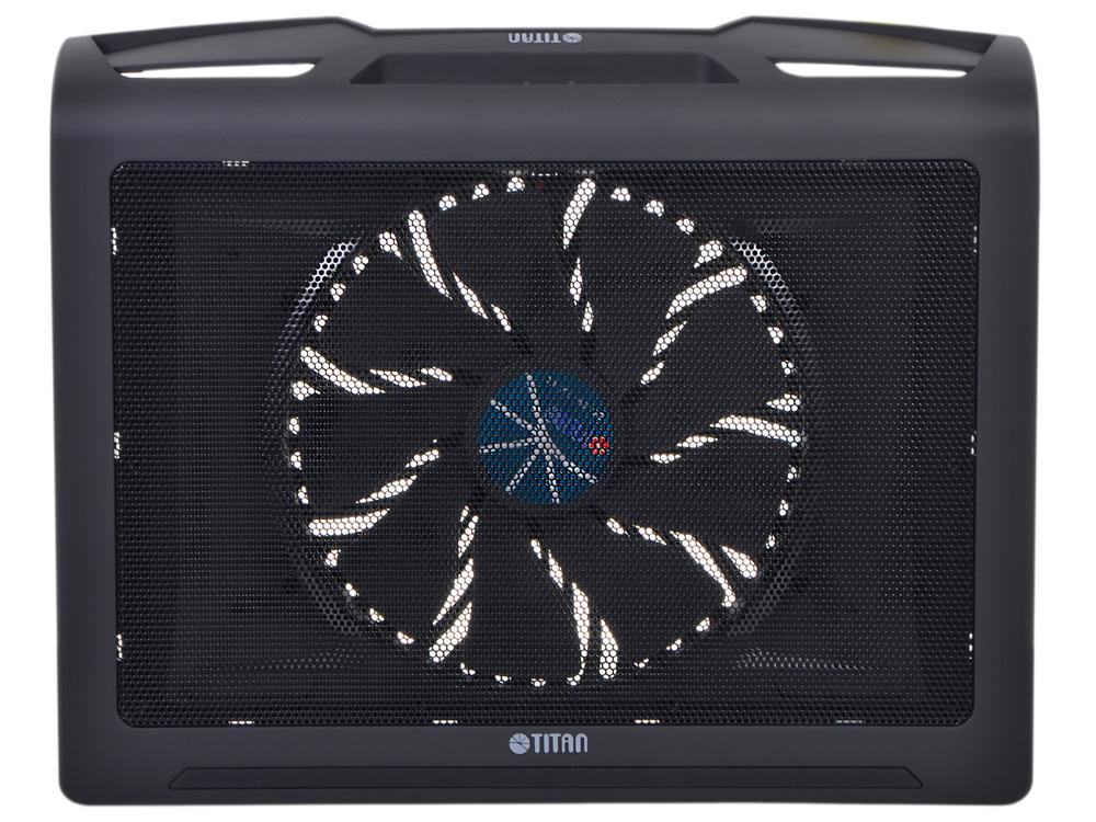 Теплоотводящая подставка под ноутбук Titan TTC-G25T/B2 Для ноутбуков с диагональю 10-17