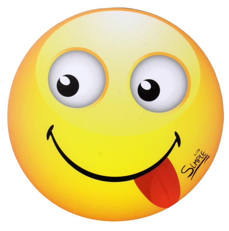 Коврик для мыши CBR Simple S9 Smile коврик для мыши simple s9 angel