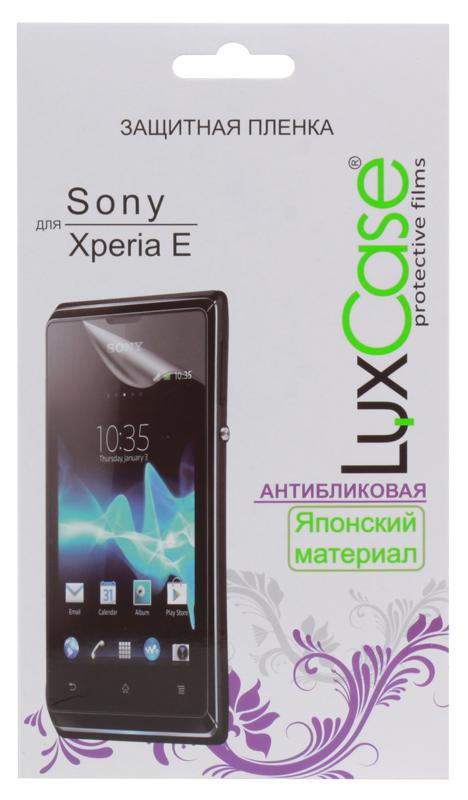 Фото Защитная пленка LuxCase для Sony Xperia E/ E dual (Антибликовая), 53х92 мм защитная пленка luxcase для sony xperia e e dual антибликовая 53х92 мм