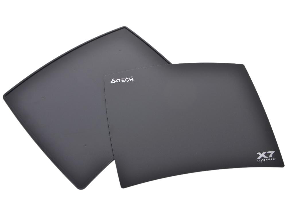Коврик для мыши  A4tech X7-801MP  Игровой, двухсторонняя пластиковая поверхность, жесткая основа, крепление для шнура