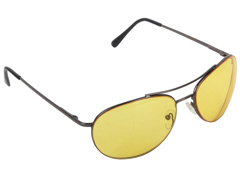 """Очки SP Glasses AD009 водительские (непогода """"comfort"""", черный) в футляре с салфеткой"""