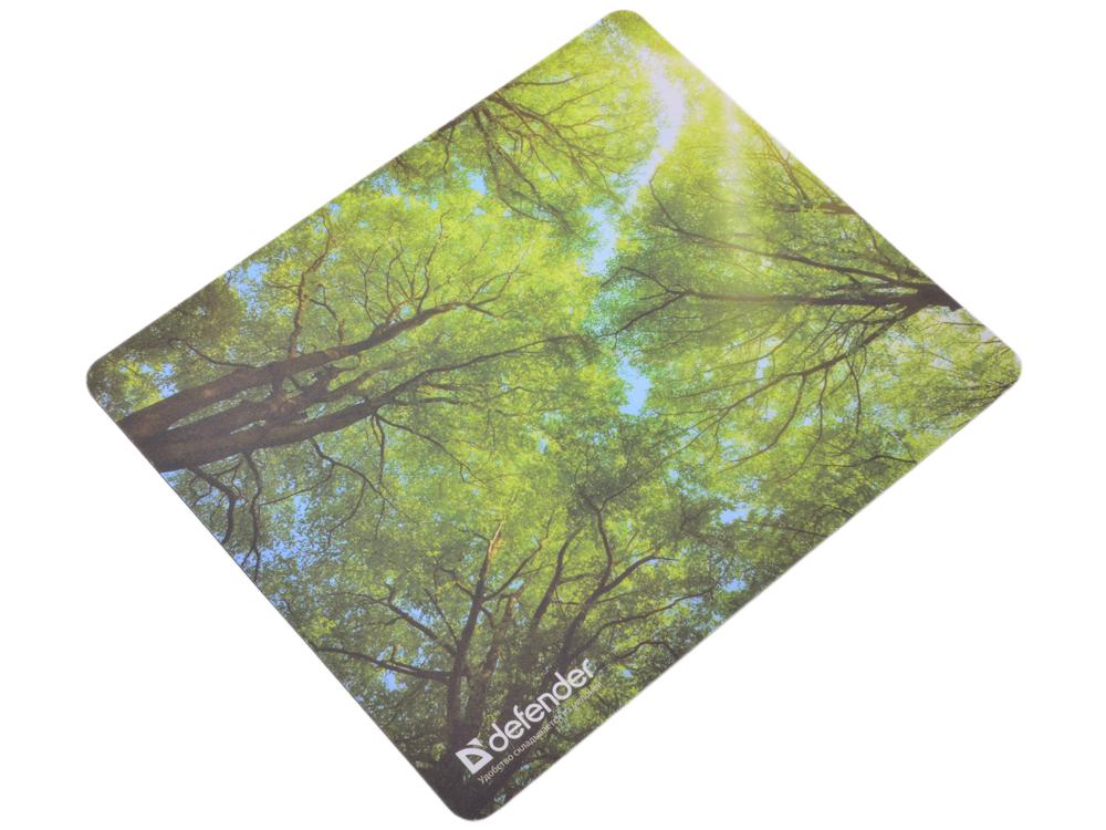 все цены на  Коврик для мыши Defender тканевый Silk Pad Nature (10 изображений) 230x190x1.6мм  онлайн