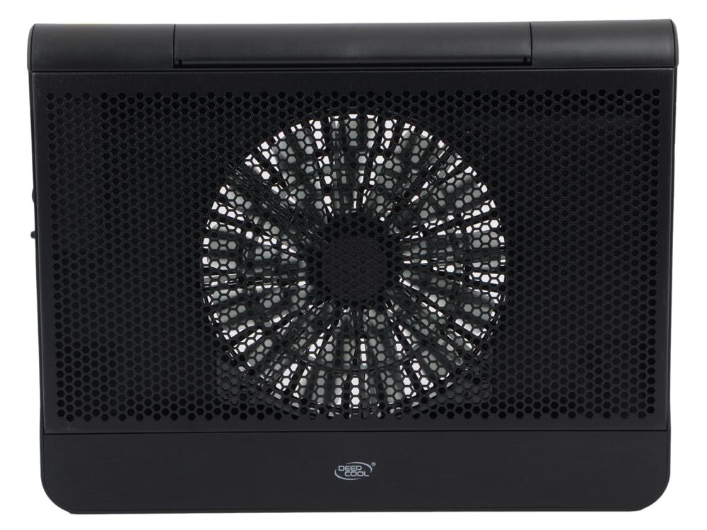 Теплоотводящая подставка под ноутбук DeepCool N6000 200 мм вентилятор, LED подсветка, 2хUSB)