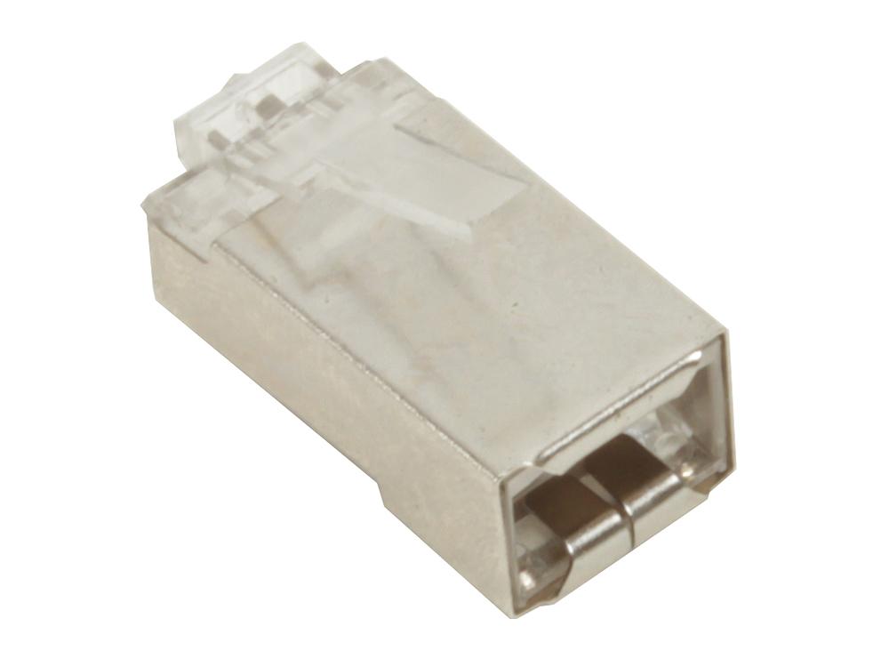 Коннекторы RJ-45 для FTP кабеля 5 кат. экранированный VCOM (VNA2230) 100 шт в пакете обжимной инструмент rj 45 в алматы