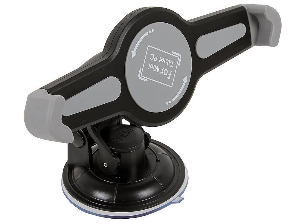 Универсальный Автомобильный Держатель GiNZZU GH-682, для планшетов 7-10,5 крепление на лобовое стекло, поворотный механизм 360° экран sakura