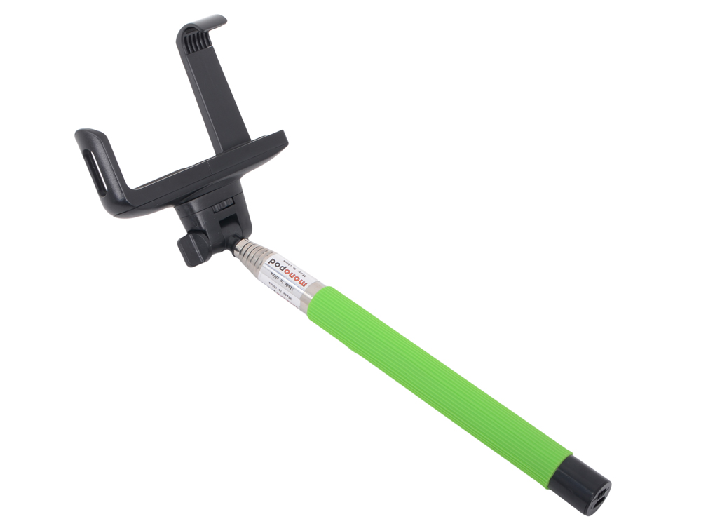 Палка для селфи LP MPD-2 (монопод с Bluetooth кнопкой съемки  1,2 м/зелен.)