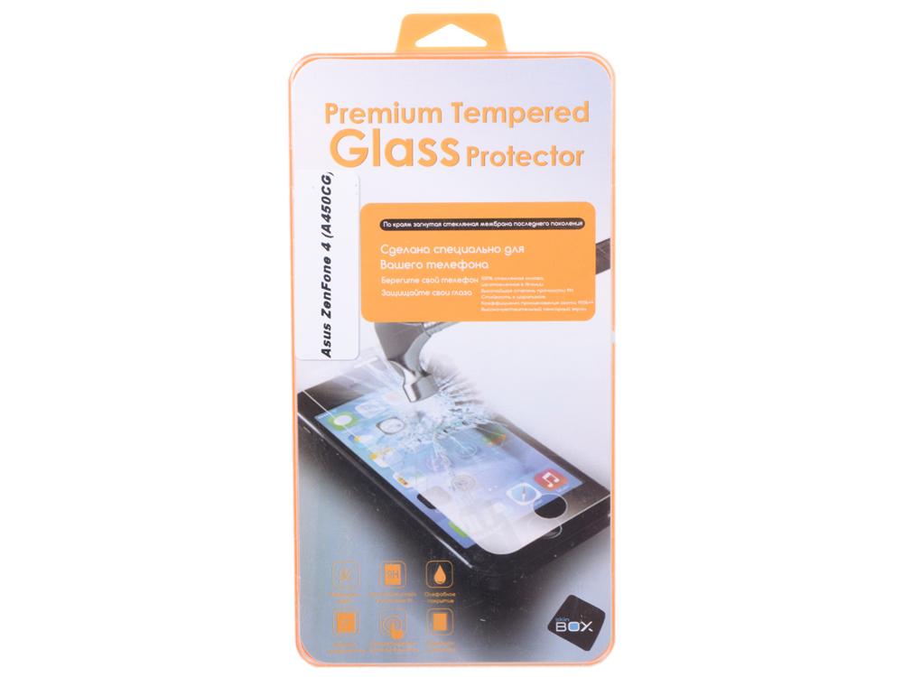 Защитное стекло для Asus Zenfone 4 A450 (0.3mm 2.5D), Skinbox