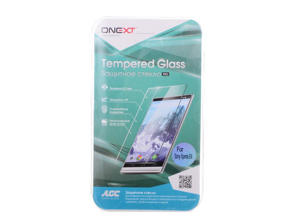 Защитное стекло для Sony Xperia E4, Onext аксессуар защитное стекло для sony xperia z3 compact onext 40912