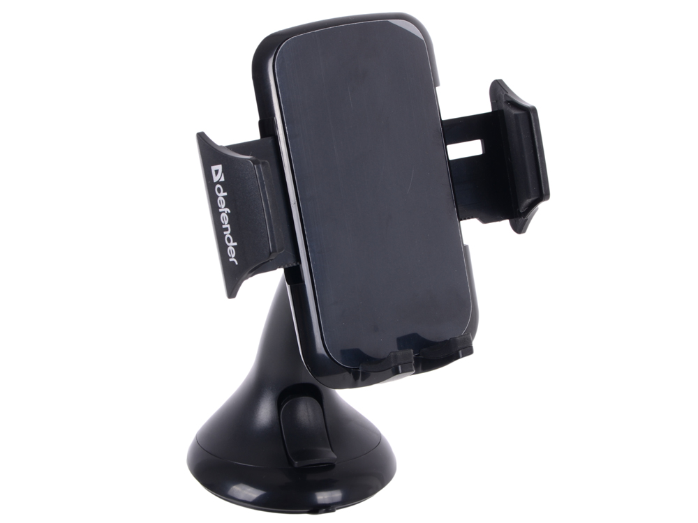Фото - Автомобильный держатель DEFENDER Car holder 103 50-100 мм, на стекло 360 degree round finger ring mobile phone smartphone stand holder