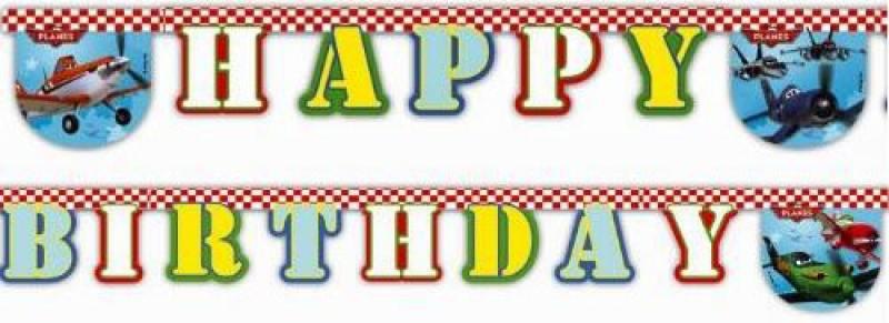 Гирлянда Procos Самолеты Happy Birthday 26072013