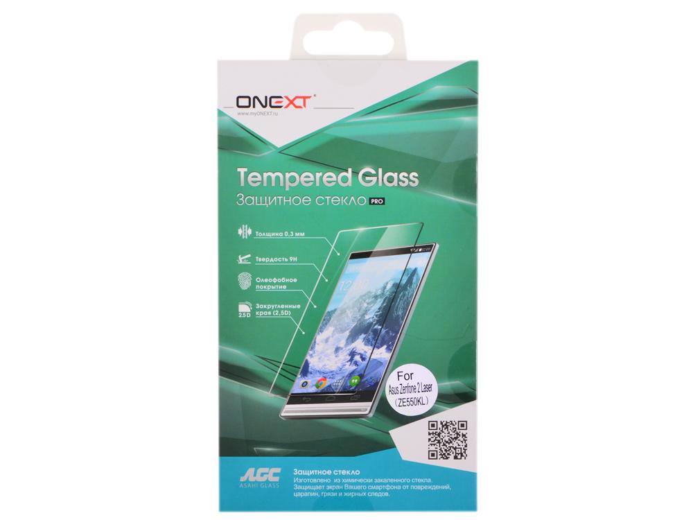 все цены на  Защитное стекло для Asus Zenfone 2 Laser ZE550KL, Onext  онлайн