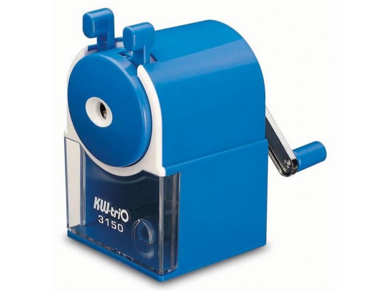 Точилка механическая KW-trio пластиковый корпус синий 315A точилка для карандашей kw trio 30h2 электрическая черный