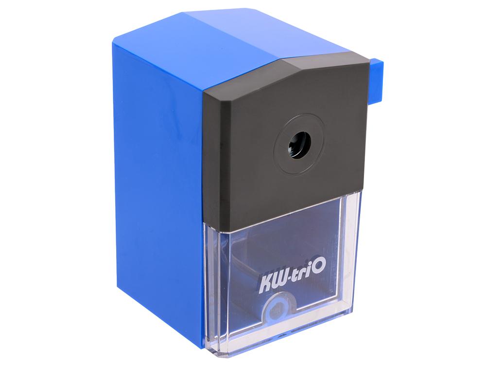 Точилка механическая KW-trio пластиковый корпус ассорти 305A точилка для карандашей kw trio 30h2 электрическая черный