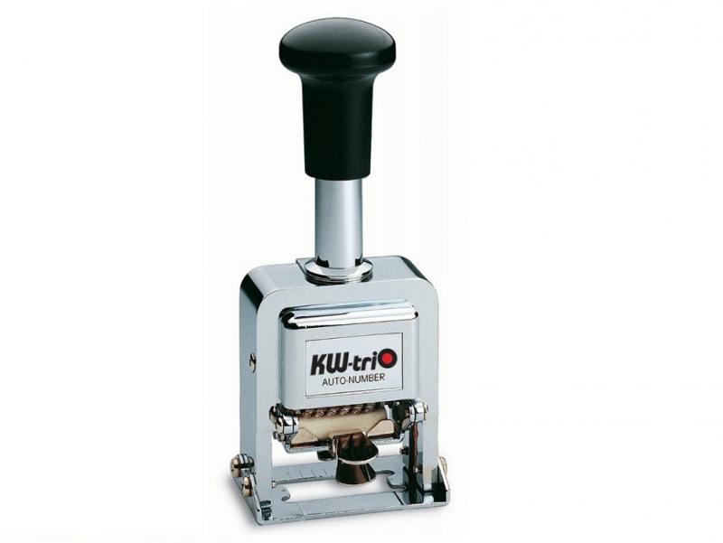 Нумератор KW-trio автоматический 8 разрядов высота цифр 3.7мм металлический 20800 панель декоративная awenta pet100 д вентилятора kw сатин
