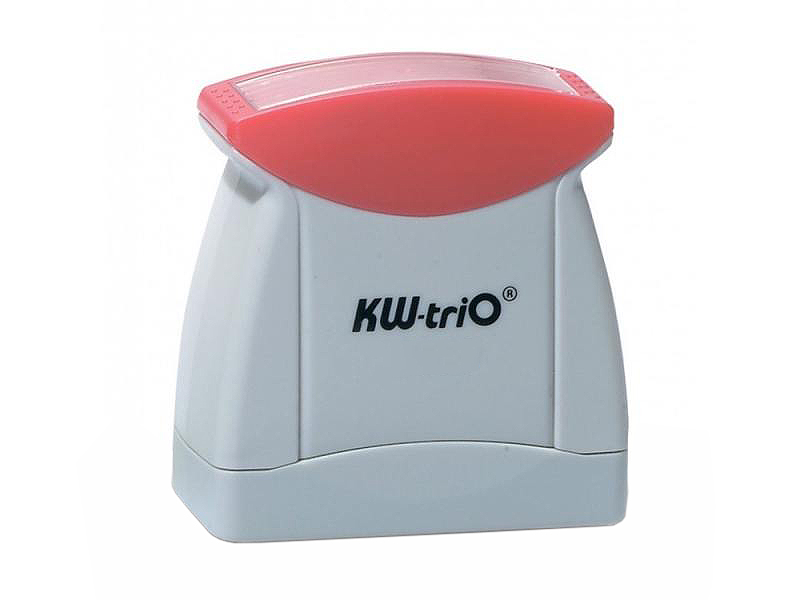 Штамп KW-trio 12010 со стандартным словом ОРИГИНАЛ пластик цвет печати ассорти магнитная лента loco