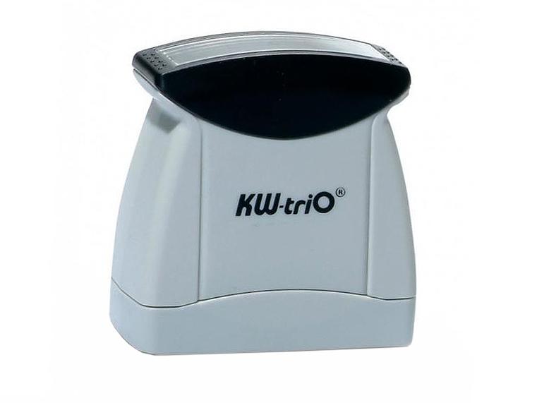 Штамп KW-trio 12007 со стандартным словом ОДОБРЕНО пластик цвет печати ассорти