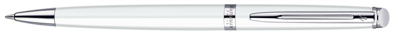 Шариковая ручка Waterman Hemisphere чернила синие корпус белый S0920970 шариковая ручка waterman hemisphere ombres