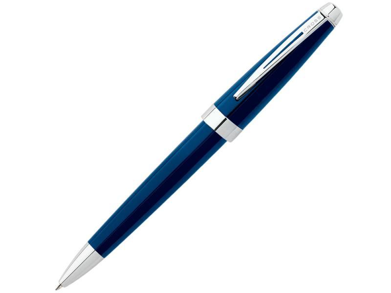 Шариковая ручка Cross Aventura Blue чернила черные корпус синий AT0152-2 роллер cross aventura черный fblack at0155 1