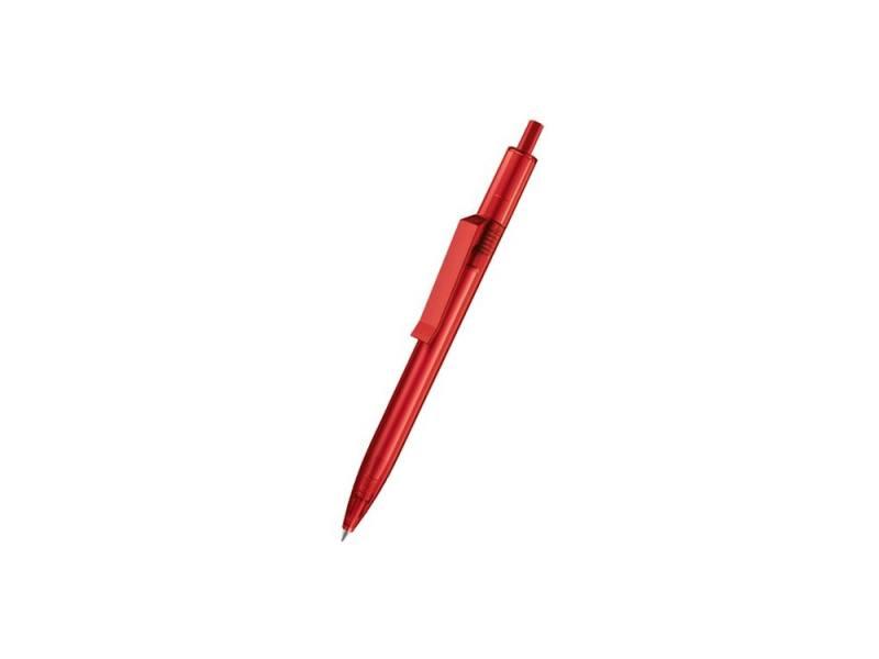 Шариковая ручка Senator Centrix Clear 2707 корпус полупрозрачный красный
