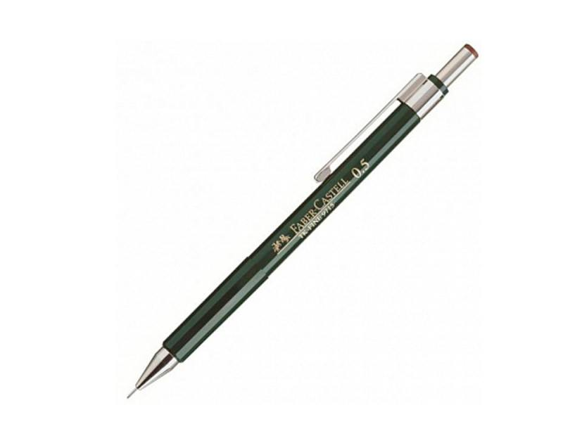 Карандаш механический Faber-Castell TK-Fine 0.5мм 136500 карандаш механический faber castell grip 2011 0 7мм серебряный 131211