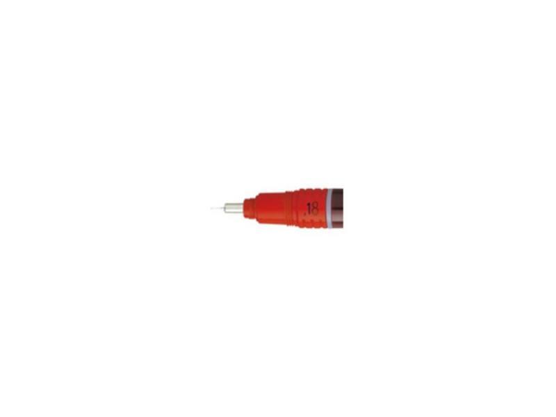 Пишущий элемент Rotring для рапидографа 0.18мм пластик S0219110