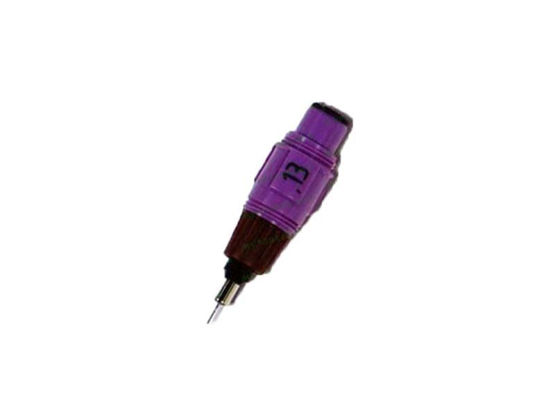 Пишущий элемент Rotring для изографа 0.8мм пластик корпус бордовый S0218680