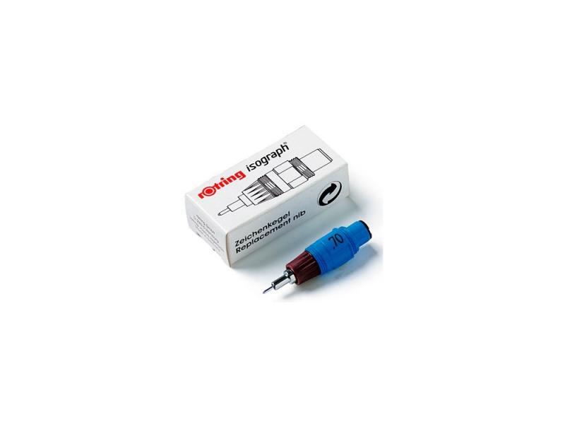 Пишущий элемент Rotring для изографа 0.18мм пластиковый корпус бордовый S0218020