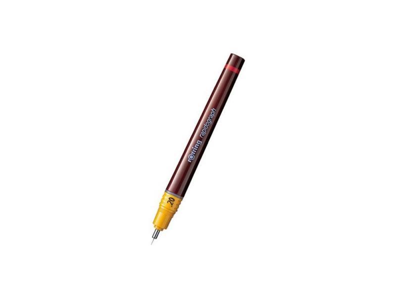 Рапидограф Rotring 0.20мм съемный пишущий узел/заправка тушь сменный картридж 1903236 рапидограф rotring 1903237 0 25мм съемный пишущий узел сменный картридж