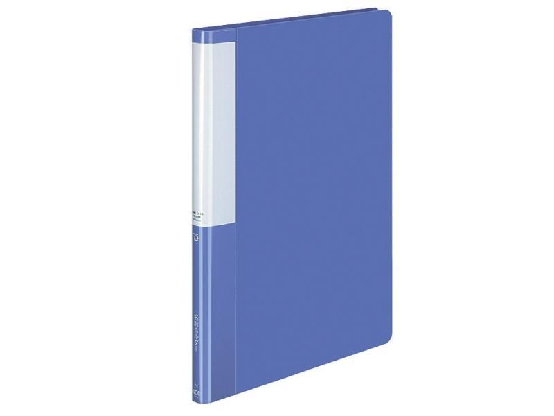 Визитница Kokuyo POSITY P3-745B на 400 карт синий визитница kokuyo posity p3 745b на 400 карт синий
