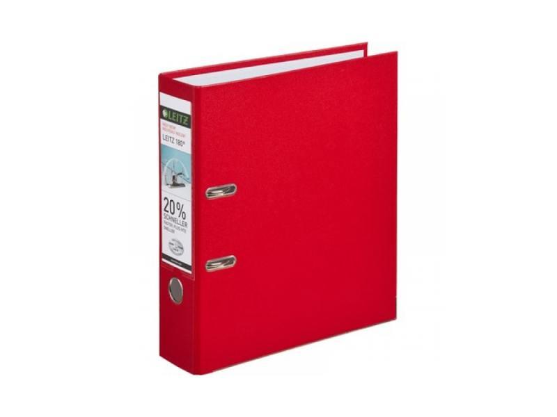 Папка-регистратор Leitz А4 80мм пластик красный 10101225P набор шаров 6шт 80мм пластик красный