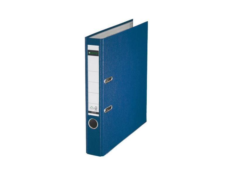 Папка-регистратор Leitz А4 50мм пластик синий 10151235P