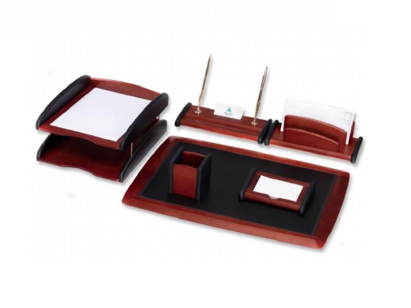 Настольный набор Good Sunrise 6 предметов красное дерево черный RS6M-1A