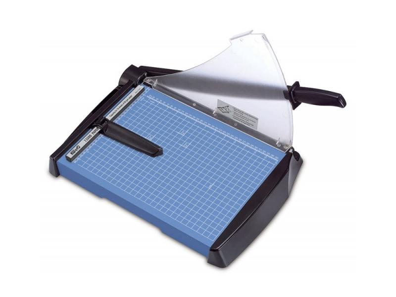 Резак сабельный KW-trio мощность 20 листов формат А4 металлическая база защитный экран 13500 резак сабельный kw trio мощность 7 листов формат а4 пластиковая база 13300